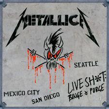 Metallica-Live Shit Binge & Purge Vinyl LP Cover Sticker or Magnet