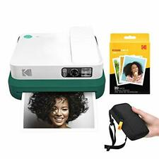 KODAK Smile Classic Digital Instant Camera with Bluetooth (Green) Starter Kit