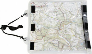 ROAMER WATERPROOF CLEAR MAP CASE D of E is fully transparent with neck strap