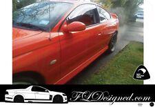 2002+ Holden Monaro coupe VT, VU  Monsoon Weather Shields, Rain guards 2pcs