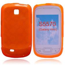 Étui en TPU Bulk Orange / Orange X Samsung Galaxy Next (Mini GT-S5570)