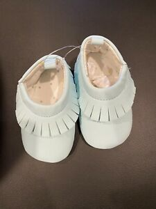 Baby Girl Carters Shoes, Light Blue, 0-3 Months, NWOT