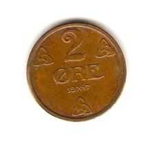 1947  NORWAY Coin 2 ORE