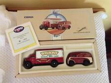 Corgi 97735 - The Cumbrian Set - Morris J Van & Bedford O Series Van - MIB