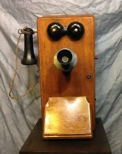Beautiful Antique Kellogg Wall Phone
