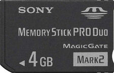 Sony Stick PRO Duo Camera Memory Cards