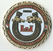 """Task Force Trojan Horse S3 OEF  Challenge Coin 2 """" DIA C-2"""