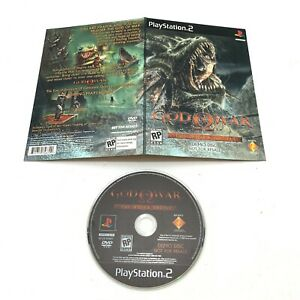 Sony Playstation 2 PS2 God of War - The Hydra Battle Demo Disc - Free Shipping!
