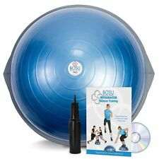 NEW - BOSU PRO BALANCE TRAINER WITH DVD MANUAL AND PUMP