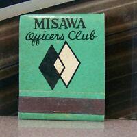 Vintage Matchbook K6 Mid Century Air Force Japan US Military Misawa Fighter Jets