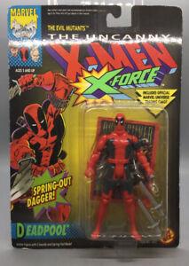 ToyBiz Uncanny X-Men X-Force Deadpool Action Figure w/Spring Out Dagger - Sealed