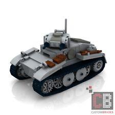 CUSTOM PDF Instructions WW2 WWII PANZER 1 TANK for LEGO® Bricks