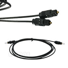 2M Digital Surround Sound Fibre Optical Audio Toslink SPDIF Cable Lead Black