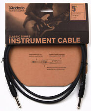 """D'ADDARIO/PLANET WAVES PW-CGT-05,  5 FOOT 1/4"""" CLASSIC INSTRUMENT CABLE"""