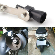 BLK Car Motorcycle Turbo Sound Exhaust Vent Pipe Whistle Blow Valve Simulator S