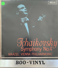 DECCA (WB) SXL.6157 ! TCHAIKOVSKY Symph No.4 ! LORIN MAAZEL/ Vienna (1965) Ex++