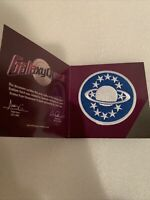 LOOT CRATE Exclusive Galaxy Quest Emblem Prop Replica Patch