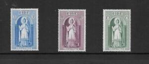 Ireland - 1961 St Patrick issue - 3 values -   unmounted mint