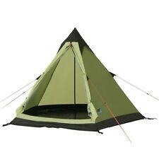 10T Camping-Zelt Comanche 300, 2 Personen Tipi-Zelt, Pyramidenzelt mit 5000mm