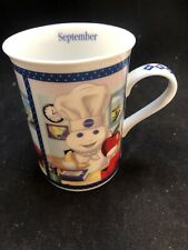 Pillsbury Doughboy Danbury Mint Coffee Cup Of The Month Mug September Displayed