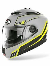 AIROH HELMET PHANTOM S FLIP UP MOTORCYCLE HELMET BEAT YELLOW MATT MEDIUM