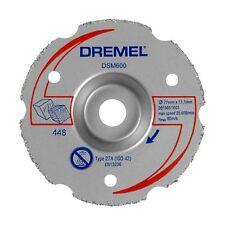 Dremel Saw Wheel Multi-purpose Dome-shaped Flush Cut Carbide Grit USA BRAND