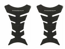 2 PCS Universal Motorcycle Gas Tank Pad Fish Bone Protector Decal Sticker