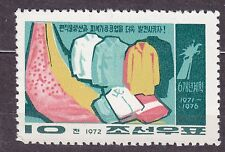 KOREA 1972 mint(*)  SC#1074 10ch, 6-Year Plan - Clothing, textiles.