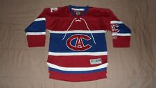Montreal Canadiens CA Red Centennial Reebok Youth size S/M NHL Hockey Jersey