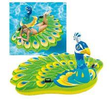 Isola Pavone gonfiabile galleggiante Intex 57250 cavalcabile piscina mare