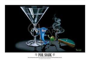 Michael Godard Pool Shark Open Edition