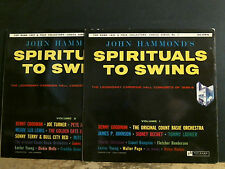 SPIRITUALS TO SWING   Volumes 1 & 2    Two  LP    EXCELLENT !!