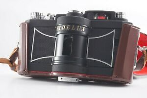 <MINT w/Hard Case> Panon Widelux F8 35mm 140° Panoramic Film Camera Japan 2816