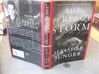 THE PERFECT STORM,1997,Sebastian Junger,1st Ed,DJ