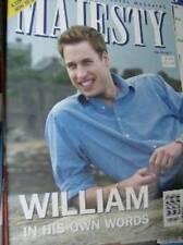 Majesty Magazine V24 #7 William Feature/Interview, Harry At Eton, Queen & Royals