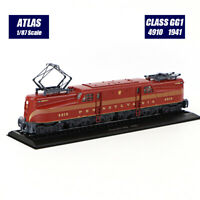 1/87 Atlas Locomotive Collections Tramways Class GG1 4910 (1941) Tram Model New
