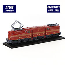 1/87 Atlas Locomotive Collections Tramways Class GG1 4910 (1941) Tram Model New