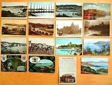 16 Vintage Postcards OBAN collection Argyll & Bute Scotland TARTAN CAMPBELL