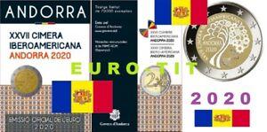 ANDORRE     N° 1        1  X  PIECE    DE  2  EURO   ANDORRE   2020   disponible