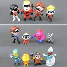 12 Pcs The Incredibles 2 Family Junior Supers Cute Action Figure Kid Gift Toy Us