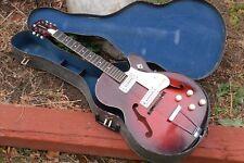 VINTAGE Harmony Rocket Guitar W /Case