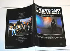 Spartiti Songbook SCORPIONS Greatest Hits Best of Rockers 'n' ballads Piano