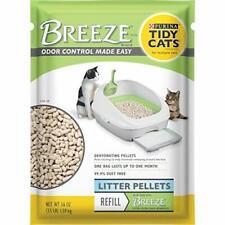 New listing Purina Tidy Cats Litter Pellets Breeze Refill Litter Pellets - 6 3.5 lb. Pouches