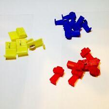 50 Stück Stromdiebe Abzweigverbinder Schnellverbinder gemischt Set 0,5 - 2,5 mm²