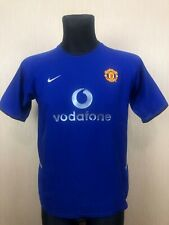 MANCHESTER UNITED 2002/2003 THIRD FOOTBALL SOCCER JERSEY BOYS NIKE XL