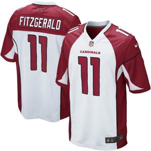 Arizona Cardinals NFL Jersey Men's Nike Road Jersey - Larry Fitzgerald 11 - New