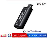 HDMI vers USB 2.0 Mini carte de Capture vidéo pour Game/Vidéo Live Streaming