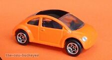 1997 Matchbox Loose Volkswagen VW Concept 1 Orange Black Roof Combine Shipping