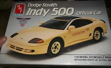 AMT 6806 DODGE STEALTH INDY PACE CAR 1/25 Model Car Mountain KIT FS