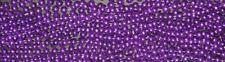 60 (5 Dozen) Purple Mardi Gras Beads Necklaces-Party Favors-Free Shipping!